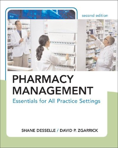 Pharmacy Management Essentials for All Practice Settings 2nd 2009 edition cover