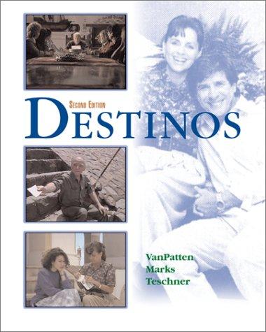 Destinos  2nd 2002 edition cover