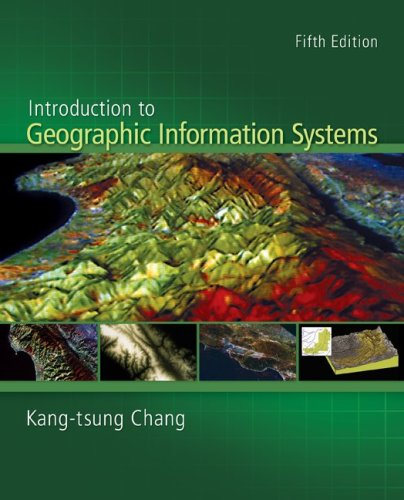 Introduction to Geographic Information Systems with Data Files CD-ROM 5th 2010 edition cover