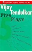 Five Plays Kamala - Silence! The Court Is in Session - Sakharam Binder - The Vultures - Encounter in Umbugland  2004 edition cover