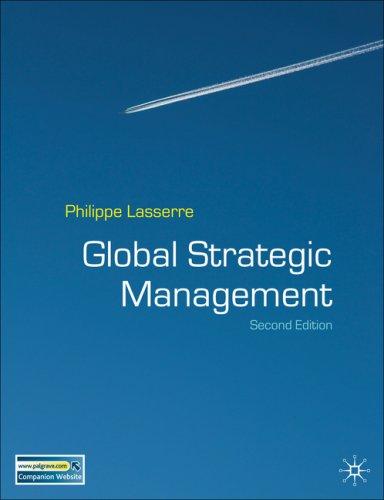 Global Strategic Management  2nd 2007 (Revised) 9780230008366 Front Cover