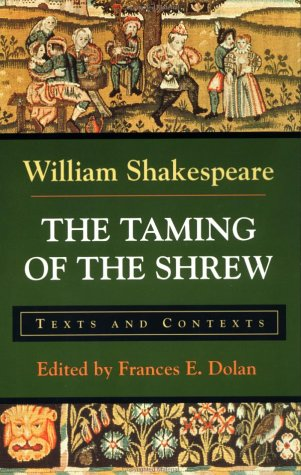 Taming of the Shrew Texts and Contexts  1996 edition cover