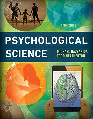 Psychological Science  6th 9780393640366 Front Cover