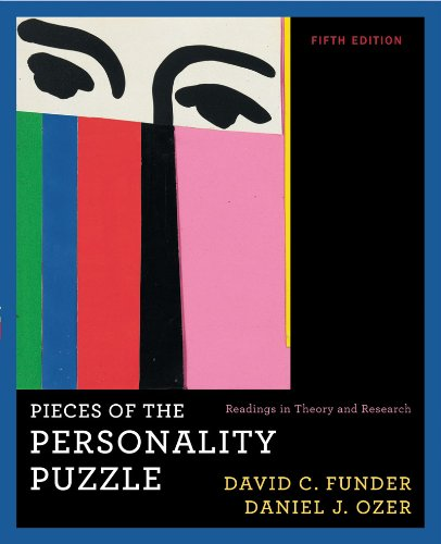 Pieces of the Personality Puzzle Readings in Theory and Research 5th 2010 edition cover
