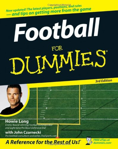 Football for Dummies  3rd 2007 (Revised) edition cover