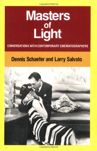 Masters of Light Conversations with Contemporary Cinematographers  1984 edition cover