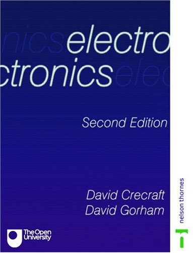 Electronics  2nd 2003 (Revised) 9780748770366 Front Cover