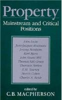 Property Mainstream and Critical Positions 2nd 1999 edition cover