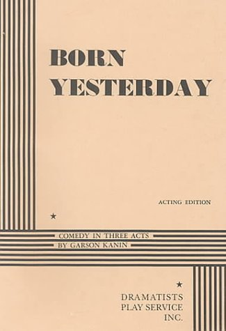 Born Yesterday  N/A edition cover