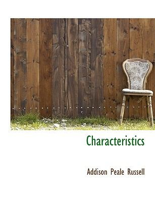 Characteristics N/A 9781115241366 Front Cover