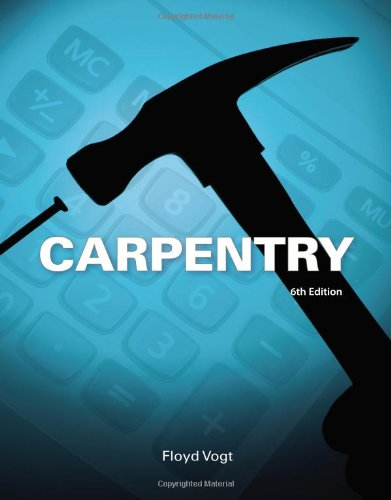 Carpentry  6th 2014 edition cover