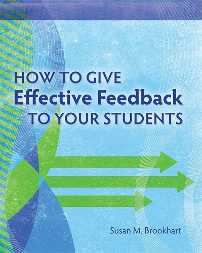 How to Give Effective Feedback to Your Students   2008 edition cover