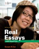 Real Essays With Readings: Writing for Success in College, Work, and Everyday Life  2014 edition cover