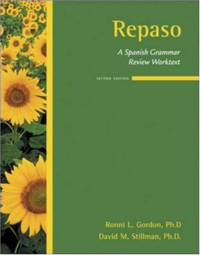 Repaso A Spanish Grammar Review Worktext 2nd 2007 (Revised) edition cover