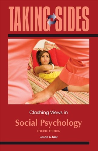 Taking Sides: Clashing Views in Social Psychology  4th 2013 edition cover