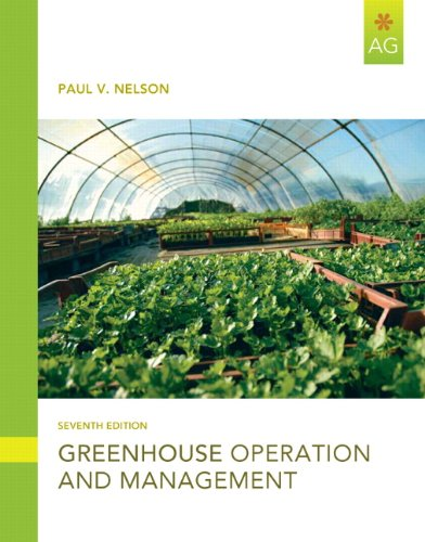 Greenhouse Operation and Management  7th 2012 edition cover