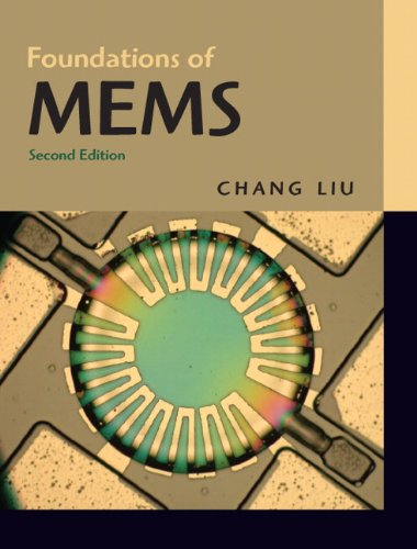 Foundations of MEMS  2nd 2012 edition cover