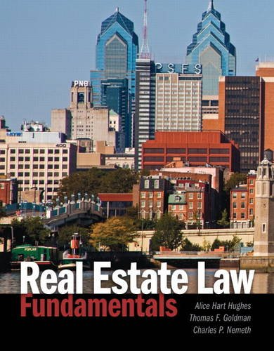 Real Estate Law Fundamentals   2014 edition cover
