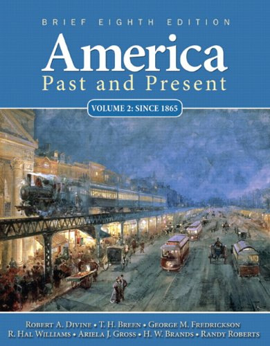 America Past and Present  8th 2011 edition cover