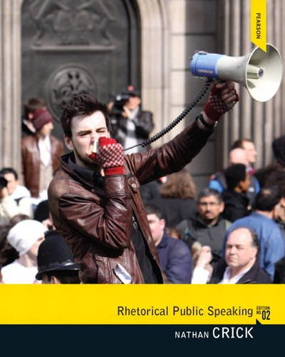 Rhetorical Public Speaking  2nd 2013 (Revised) edition cover