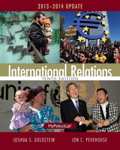 International Relations, 2013-2014 Update  10th 2014 9780205971367 Front Cover