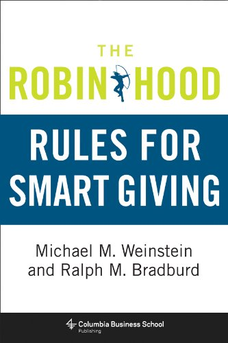 Robin Hood Rules for Smart Giving   2013 9780231158367 Front Cover