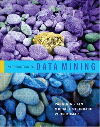 Introduction to Data Mining   2006 edition cover