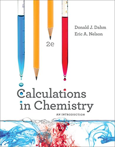 Calculations in Chemistry An Introduction 2nd 2017 9780393614367 Front Cover