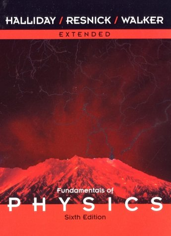 Fundamentals of Physics, Extended Version, Chapters 1-45  6th 2001 9780471332367 Front Cover