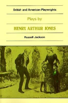 Plays by Henry Arthur Jones   1982 9780521299367 Front Cover
