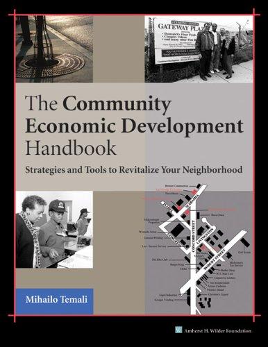Community Economic Development Handbook Strategies and Tools to Revitalize Your Neighborhood  2002 edition cover