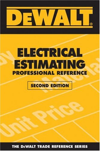 Electrical Estimating Professional Referenc  2nd 2008 edition cover