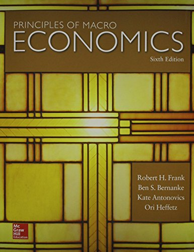 Principles of Macroeconomics  6th 2016 9781259414367 Front Cover