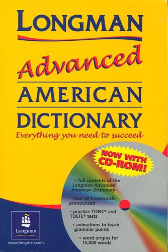 Longman Advanced American Dictionary (paper) with CD-ROM   2005 edition cover