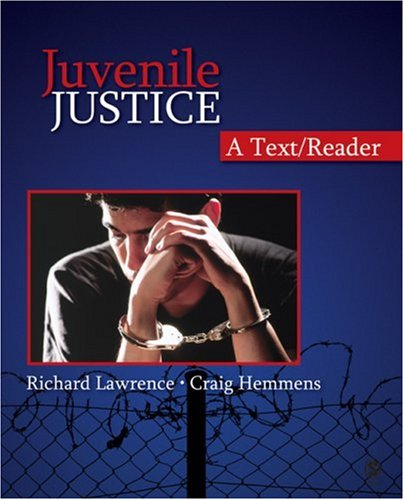 Juvenile Justice A Text/Reader  2008 edition cover