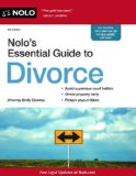 Nolo's Essential Guide to Divorce  5th 9781413320367 Front Cover