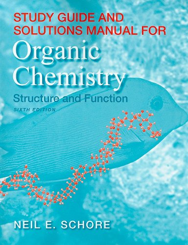 Study Guide/Solutions Manual for Organic Chemistry  6th 2011 (Revised) edition cover