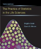 Practice of Statistics in the Life Sciences  3rd 2013 (Revised) edition cover