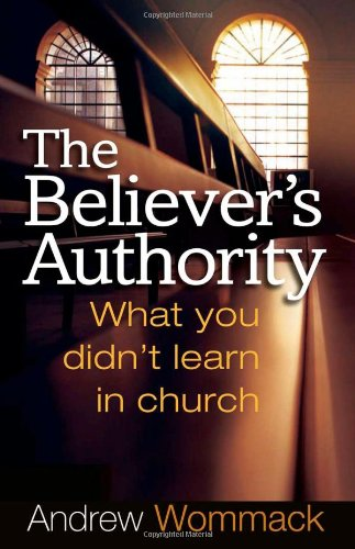 Believer's Authority N/A edition cover