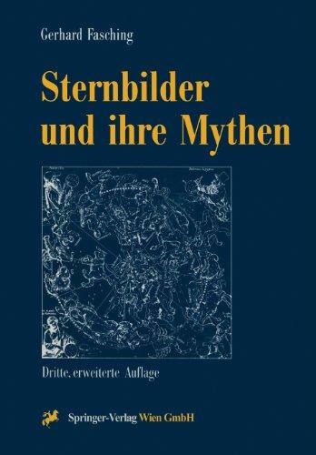 Sternbilder und Ihre Mythen  3rd 1998 9783709173367 Front Cover