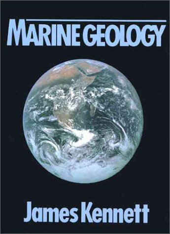 Marine Geology  1st 1982 edition cover