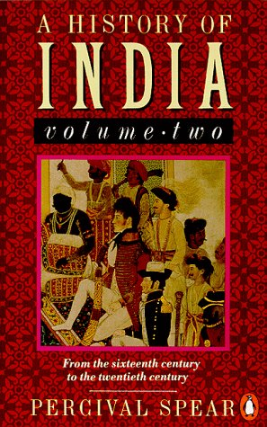 History of India From the 16th Century to the 20th Century N/A 9780140138368 Front Cover