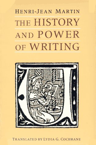 History and Power of Writing   1995 edition cover
