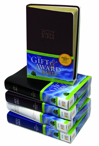 Niv Gift and Award Bible  Special edition cover