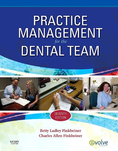 Practice Management for the Dental Team  7th 2010 edition cover