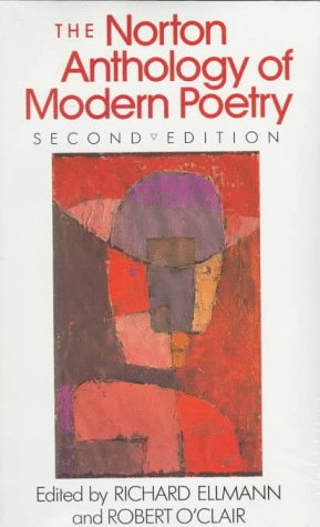 Norton Anthology of Modern Poetry  2nd 1988 (Teachers Edition, Instructors Manual, etc.) edition cover