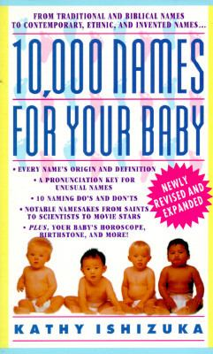10,000 Names for Your Baby  N/A 9780440223368 Front Cover