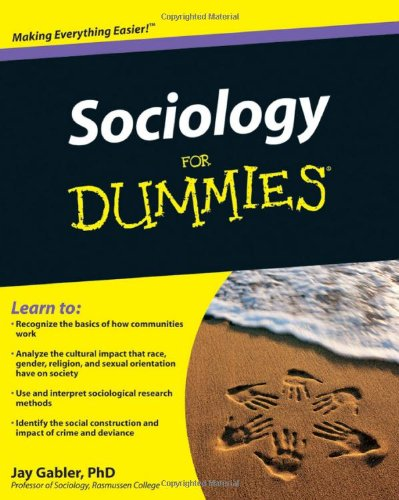 Sociology for Dummies   2010 edition cover