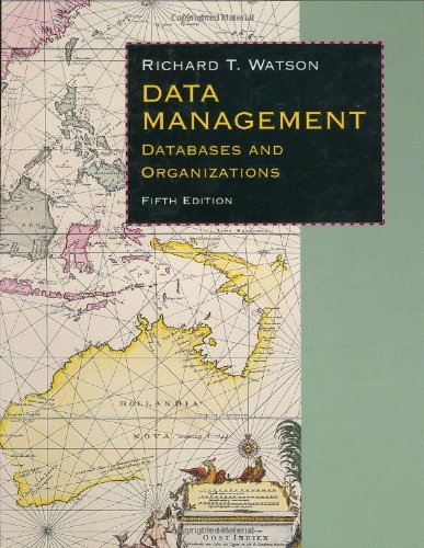 Data Management Databases and Organizations 5th 2006 (Revised) edition cover