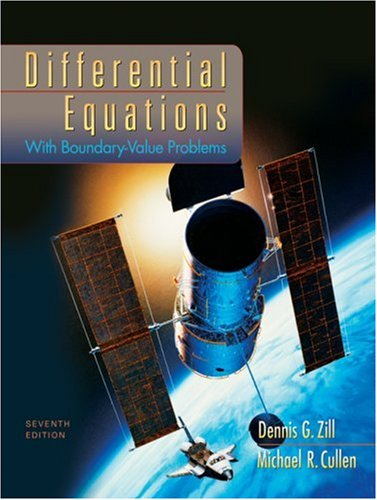 Differential Equations with Boundary-Value Problems  7th 2009 edition cover